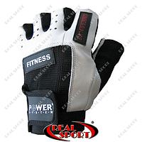 Перчатки для фитнеса Power System PS-2300 Fitness, черно-белые