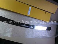Накладка на бампер Ford MONDEO III 4/5-дверка с 2000-2007 (Nataniko)