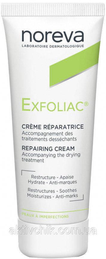 Восстанавливающий увлажняющий крем Норева Эксфолиак Noreva Laboratoires Exfoliac Cream Reparatrice