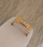 Золотая перстень 585 пробы