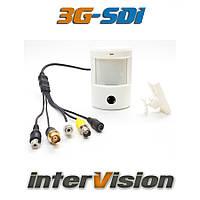 Цифровая видеокамера 3G-SDI-2864PLUS interVision совмещенная с Ик датчиком обнаружение 10 метров, угол 90