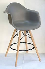 Полубарное кресло Leon, серое