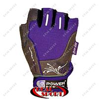 Перчатки для фитнеса Power System PS-2570, фиолетовые