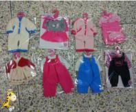 Одежда для пупса Baby Born WEI-GCM6 (96шт/2) 8 видов, на вешалке, в пак