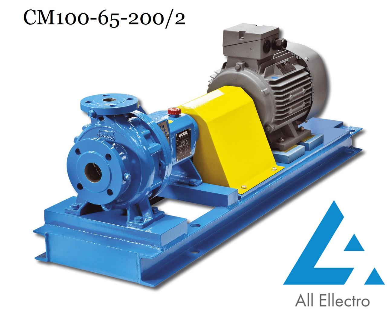 Насос СМ100-65-200/2 (насос СМ 100-65-200/2)