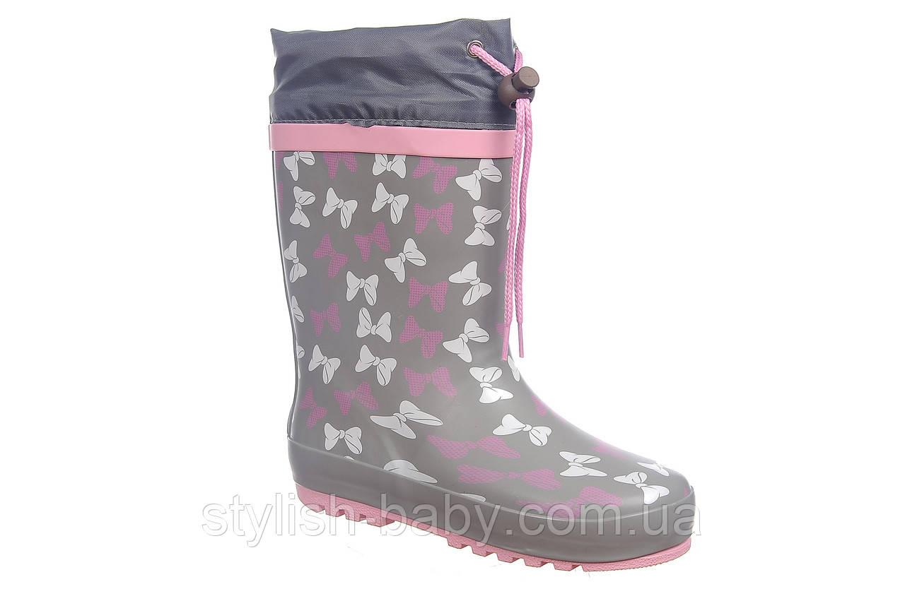 Дитяче взуття для не погоди 2019 оптом. Дитячі гумові чоботи бренду Tom.m для дівчаток (рр. з 28 по 35)