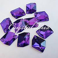 Стразы Lux Космик 13*17мм. Purple Velvet