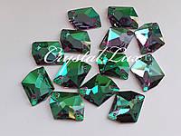 Стразы Lux Космик 13*17мм. Emerald