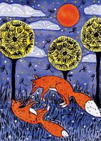 """Набір листівок """"Грайливі лисички"""" (3шт)"""
