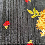 Свадебные ленты 1061-18, павлопосадский платок шерстяной с просновками с подрубкой, фото 8