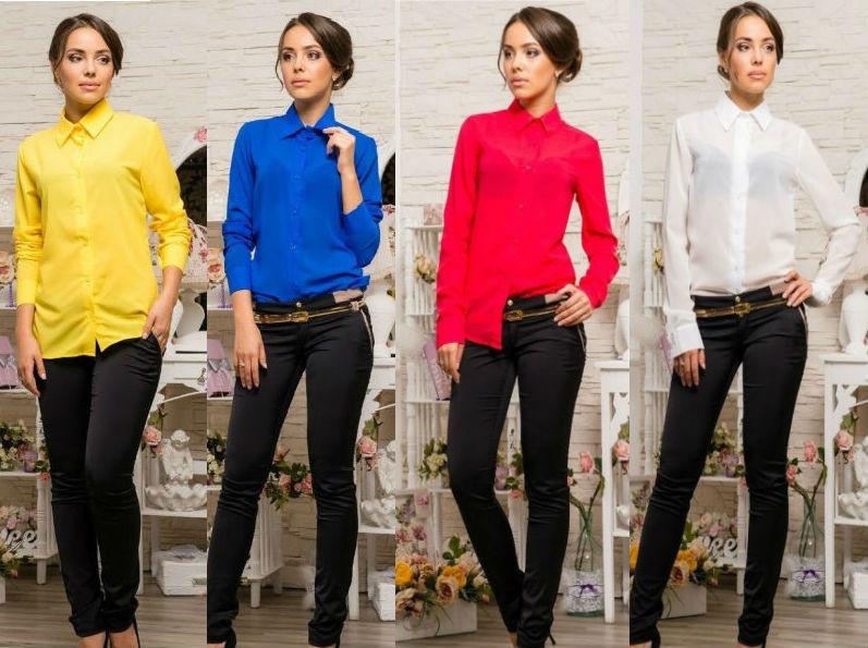 ef2866632a3 Женская стильная рубашка - 4 цвета! - СТИЛЬНАЯ ДЕВУШКА интернет магазин  модной женской одежды в