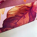 10343-3, павлопосадский платок на голову хлопковый (саржа) с подрубкой, фото 5