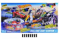 Автомойка Скорпион 5784,трек хот вил, машинка меняет цвет,Автомийка Hot Wheel Scorpion