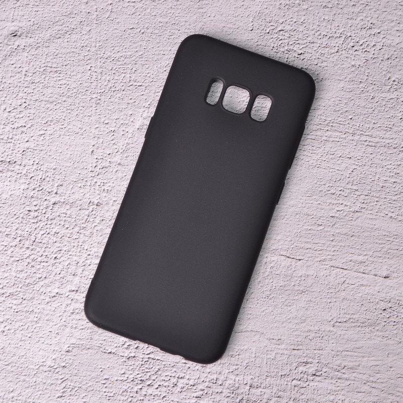 Чехол черный, матовыйТПУ для Samsung Galaxy S8