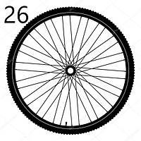 Велосипедные колеса 26