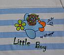 Детская хлопковая футболка Little Boy (Nicol, Польша), фото 3