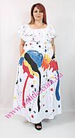 Платье летнее хлопок с абстрактным рисунком  Darkwin, фото 1