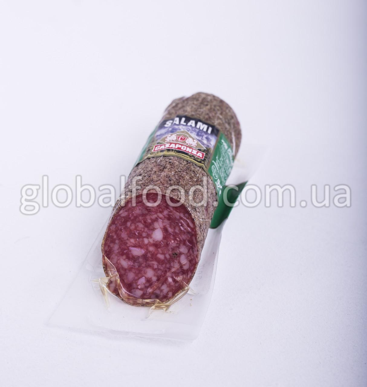Колбаса Салями Мини с перцем в индивидуальной упаковке Salami CASAPONSA Испания  270г/шт свин.