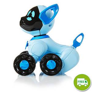 WowWee маленький интерактивный щенок Chip  голубой W2804/3818