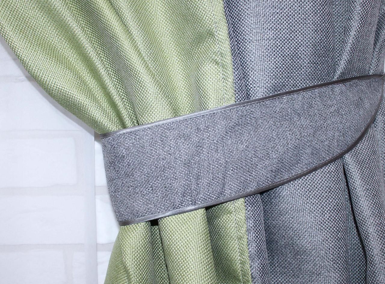 "Шторы из ткани блекаут ""Лён"" Код 014дк (320-288), фото 5"