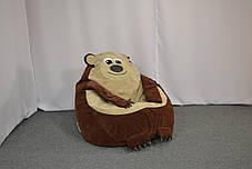 Детское кресло мешок Мишка, фото 3