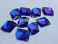 Стразы Lux Космик 21*26мм. Capri Blue