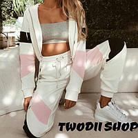 Женский стильный спортивный костюм : кофта+штаны