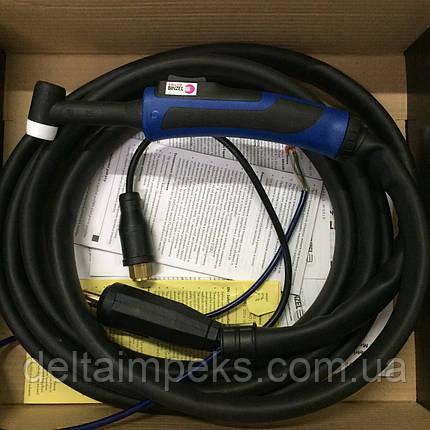 Сварочная горелка ABITIG 26 GRIP, 12м управление кнопкой, газовое охлаждение, фото 2