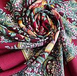 Белой ночи кружевные сны 1844-7, павлопосадский платок шерстяной  с шелковой бахромой, фото 10