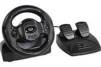 Руль Sven GC-W300 c педалями, vibration, 10 дополнительных кнопок