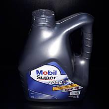 Масло моторное Mobil Super 2000 10W-40 4L 08667