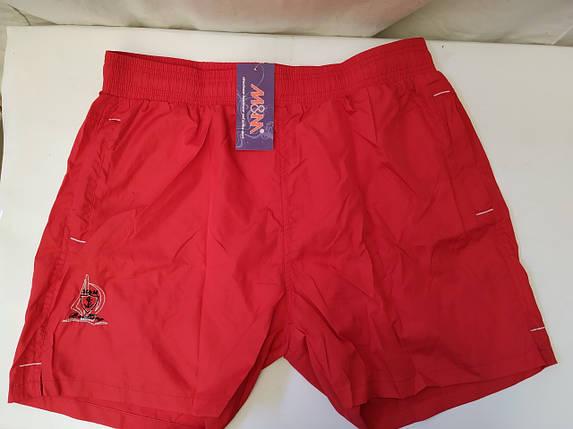 Шорты купальные мужские   TERES 003  красный (есть 52,54,56,58  размеры), фото 2
