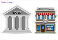 """Наклейки-дополнение Трик-Трек """"Банк и ресторан"""""""