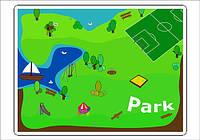 """Наклейки-дополнение Трик-Трек """"Парк развлечений"""""""