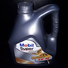 Масло моторное Mobil Super 3000 5W-40 4L 08665
