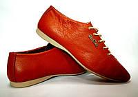 Женские кожаные туфли-лодочки производство Италии.