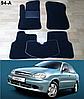 Коврики на Chevrolet Lanos / Sens '05-н.в. Текстильные автоковрики