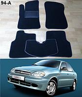 Коврики на Chevrolet Lanos / Sens '05-н.в. Текстильные автоковрики, фото 1