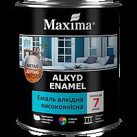 """Эмали алкидные TM """"Maxima"""" белая матовая - 2,3 кг."""