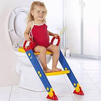 Насадка на унитаз для ребенка со ступенькой, фото 1