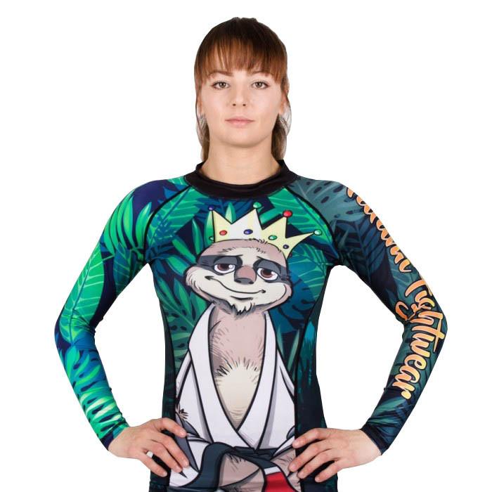 Рашгард женский TATAMI Ladies King Sloth
