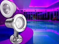 LED–лампы и галогенные прожектора (подводное освещение бассейнов)