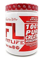 FitLife 100% Pure Creatine Monohydrate 225 g
