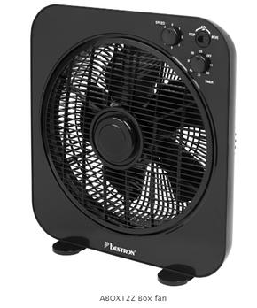 Вентилятор Bestron ABOX12Z BOX FAN, фото 2