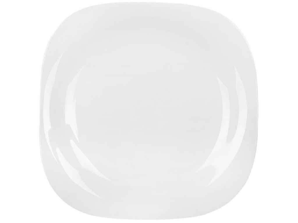 "Тарелка квадратная CARINE WHITE /19 см/ десертная (L4454) 6325505 ""LUMINARC"""