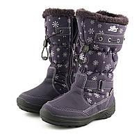 Мембранные утепленные сапожки Lico (Германия) р 27, зимняя детская обувь