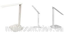 14-10-002. Настольная LED лампа Lux, белая, SP106