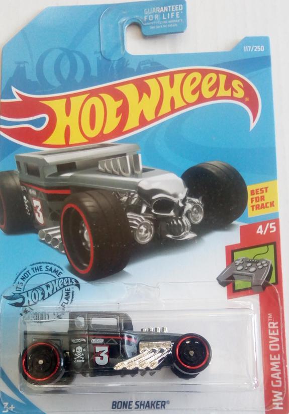 Машинка Hot Wheels 2019 Bone Shaker