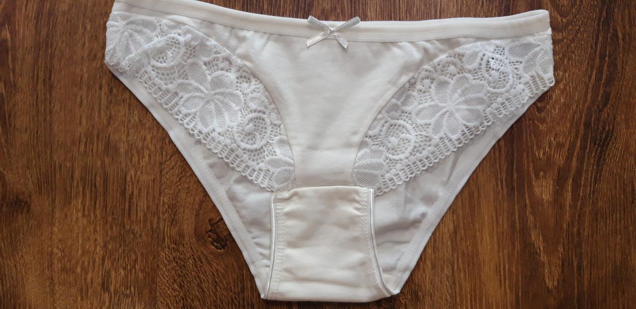 """Трусики жіночі,бавовняні """"Pink secret"""" Туреччина Art: 8046 ,молочні"""