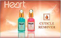 Кислотный ремувер для удаления кутикулы HEART Cuticle Remover, Розовый, 15мл
